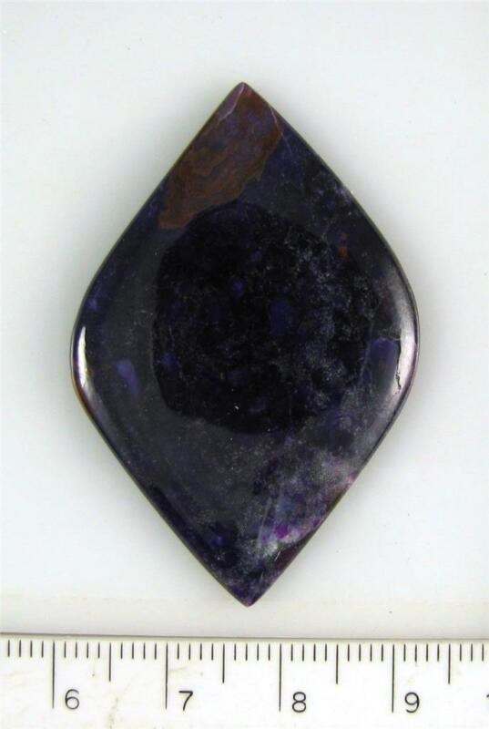 Sugilite Cabochon (#18) 46x30 mm - CLEARANCE - BUY MORE 4 LESS