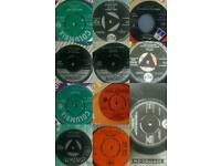 "Collection of rare 7"" singles vinyl 1958-1966"