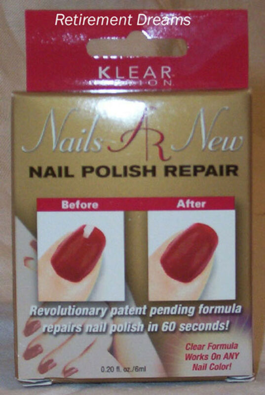 KLEAR ACTION NAILS AR NEW Nail Polish Repair Lot of 2