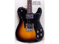 FENDER Telecaster '72 Custom Sunburst guitar with Japan '62 neck and Wide Range humbucker - CAN POST