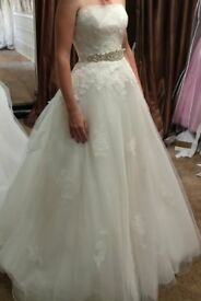 WEDDING DRESS (mori lee)