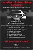 Car Rental Week/Month - INSURANCE INCLUDED-NO CREDIT CARD NEEDED