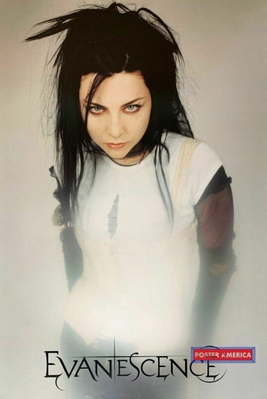 Amy Lee Evanescence Rare White Poster 24 x 35
