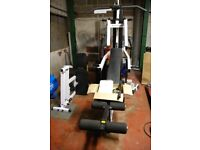 Multi Gym. Fitness weight training. BODY SOLID WEIGHT TRAINER. GYM.