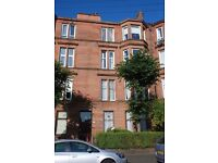 1-2 bedroom unfurnished flat to rent, Dennistoun