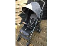 Chicco Liteway Stroller/buggy with footmuff and rain cover