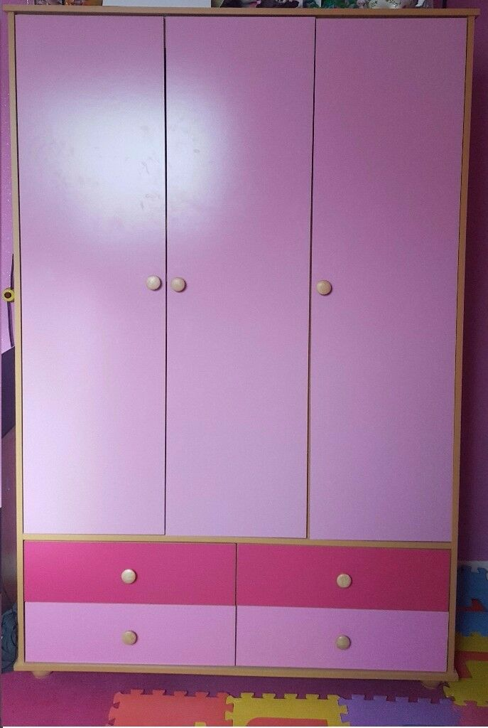 Cupboard and Bedside Table