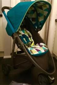 New Other Graco Evo Mini Harlequin Pushchair