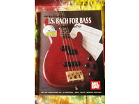 Bill Dickens, Funk bass & beyond, John Patitucci, J.S. Bach for bass, Gary Willis 101 bass tips