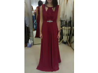 Bridesmaid / Prom Dress in Wine Red by Symphony of Venus. Size 6. 2 Available. Brand New With Tags.