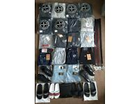 Men's Tracksuits, Jeans, Belts, Shoes, Slides - True Religion, Stone Island, Armani, Givenchy