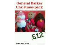 General Barker Christmas pack