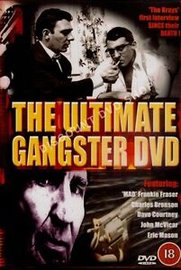 THE ULTIMATE GANGSTER DVD.KRAYS,FRANKIE FRASER & MORE..
