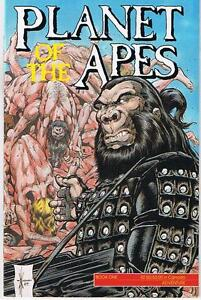 Planet Of The Apes Book #1 autog by Penciller Kent Burles. London Ontario image 1