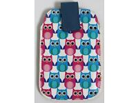 Blue & Pink Owl Phone Case Phone Cover