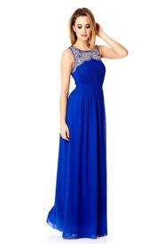 Prom / Formal Maxi Evening Dress Size 10