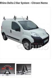 Roof Bars Citroen Nemo and others