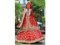 Excellent condition Asian bridal lehnga
