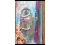 Disney Frozen Mask & Snorkel set