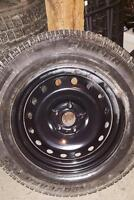 20 inch studded winter tires and rims