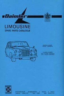 DAIMLER Limousine parts manual book paper car