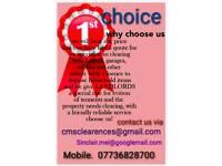 CMSCLEARENCES 1st choice