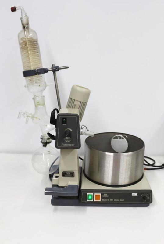 Buchi RE111 Rotavapor, Rotary Evaporator w/ B-461 Heating Bath
