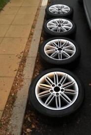 BMW 1 Series 207 Alloy Wheels Genuine E81 E82 E87 E88