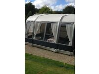 Bradcot Modus universal caravan porch awning with extensions