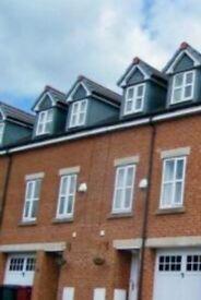 Newly built 4 bedroom town house for rent opposite blackburn. Royal hospital