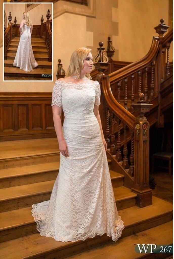 Plus Size White Rose Ivory Wedding Dress In Longstone Edinburgh Gumtree