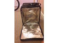 Deliveroo thermal cyclist bag
