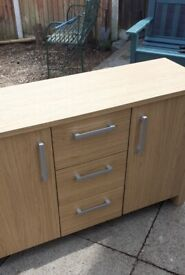SIDEBOARD with THREE DRAWERS and TWO DOORS