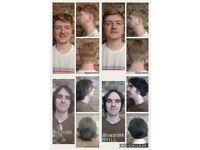 Men free Haircuts
