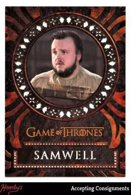 2019 Game of Thrones Inflexions Laser Cuts #L21 Samwell