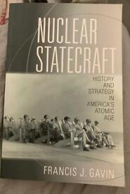 Book: Nuclear Statecraft. As New