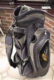 Power Caddy Golf Trolley Bag, hood and rain cover