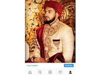 Hand tied wedding turbans, turban tying service Indian Turban Sherwani Safa Pagri UK LONDON