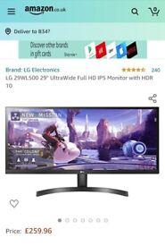 LG-29WL500 widescreen monitor