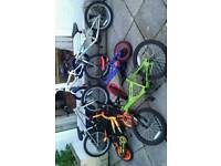 Cheap kids bikes from £5 to £20