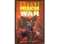 Dark Horse 'Aliens vs. Predator: War' Softback Graphic Novel (1996)