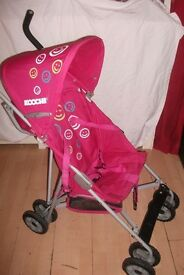 Koochi Road Runner Happy Girlz Stroller