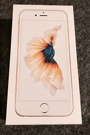 Brand New iPhone 6s 32 gg Gold on EE