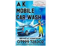 A K mobile car valeting 07999726302