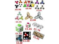 Wholesale joblots of Fidget Spinners very low prices Free delivery anywhere in UK