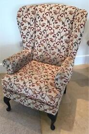 Parker Knoll like Wing Chair