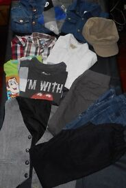 clothes for boys- 4 -6 years old - 14 items in VERY good condition