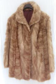 Real MINK fur coat