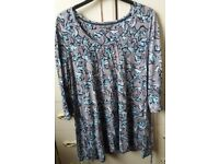 Ladies Laura Ashley Top - size 16