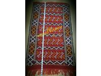 Hand-woven berber moroccan rug